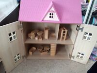 Dolls house and furniture x