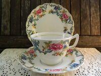 Booths Floradora Tea Cup/Saucer/Plate Trio (2 available)