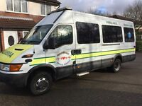IVECO 2.8 LWB 2003,AMBULANCE/CAMPER,ONLY 51750 MILES,FSH,ONE OWNER,MINT CONDITION