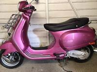 Vespa Lx 50 pink.