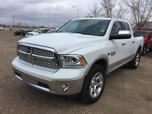 2014 Ram 1500 Laramie- Low KM, Bluetooth. Heated Seats