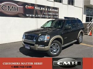 2008 Ford Explorer EDDIE BAUER V8 4X4 7-PASS LEATH ROOF *CERTIFI