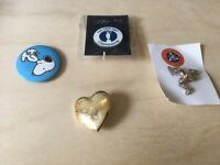 Collection of assorted pins and badges - may be collectible