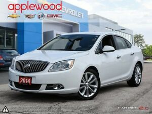 2014 Buick Verano Leather Package POWER SEAT, LANE DEPARTURE,...