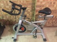 DKN X-RUN SPEEDBIKE SPINNING INDOOR CYCLE - 23KG FLYWHEEL