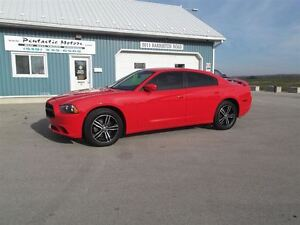 2014 Dodge Charger SXT,AWD,LEATHER,WELL OILED,LOCAL TRADE