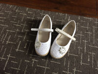 Girls White Shoes size 12