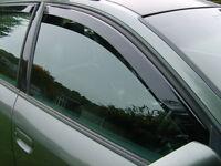 audi a6 estate heko tinted wind deflectors window visors brand new in box