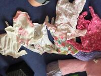 Girls tiny baby clothes