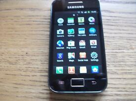 SAMSUNG GALAXY ACE TOUCHSCREEN ANDROID PHONE IN PERFECT WORKING ORDER £10