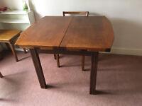 Extending Oak Dining Table 'Magic Table' Vintage Retro
