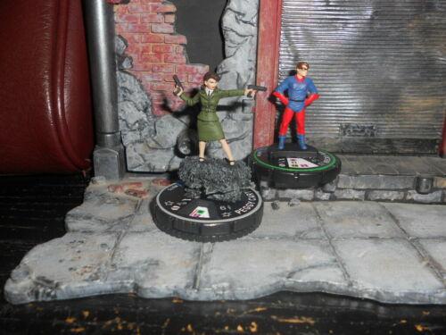 CUSTOM HEROCLIX PEGGY CARTER Captain America and The Avengers #075 BECKY BARNES