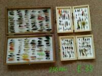 Assorted Fishing Flies Job Lots