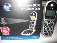 BT 4600 Big Button Digital cordless phone with answering machine