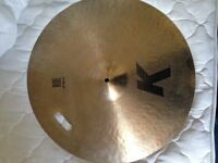 "Zildjian 22"" K Ride (Repaired)"