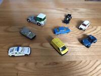 CORGI TOYS/CARS JOB LOT x 8. Collectors cars