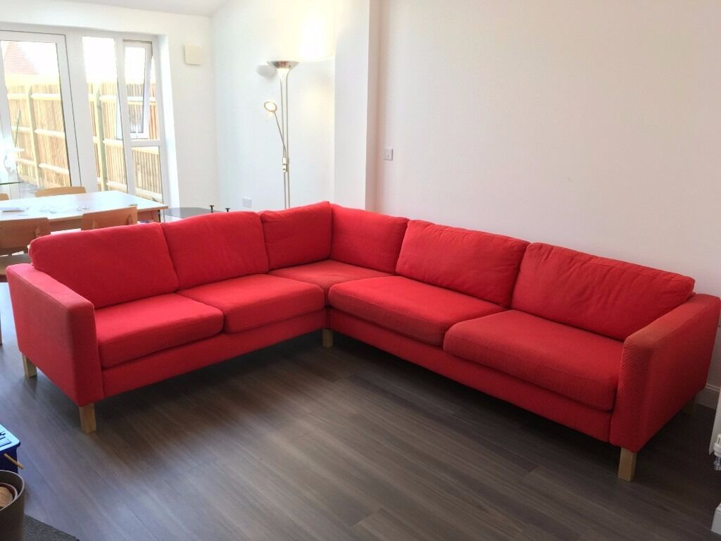 Large Ikea L Shaped Corner Sofa