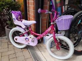 SOLD. Rayleigh girls Mollie bike