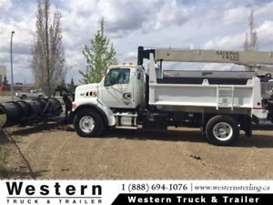 2007 Sterling L-7501 with 12' Box & Plow