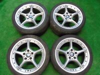 GENUINE BMW Z4 ALLOY WHEELS WITH TYRES