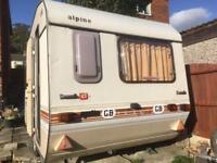 Sprite Alpine 4 berth classic caravan
