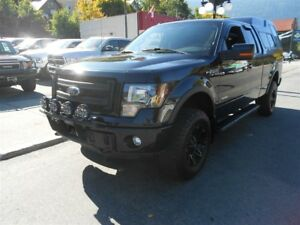 2013 Ford F-150 FX4 CANOPY BLACK WHEELS