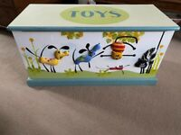 Children's Toy Box, Wooden- Pets by 'Heather Spencer'