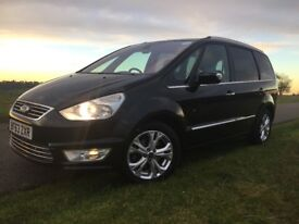 Ford Galaxy 1.6 TDCi Titanium 5dr Man (start/stop) 2013 (63 Reg) Ideal for a PCO Taxi Driver