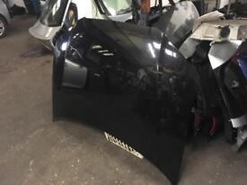 2008 Audi A3 front bonnet in black colour fits from 05/2009 facelift