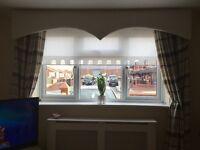 2x sets of curtains size l- 90cm X w- 56cm £30