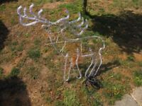 xmas stag outdoor light