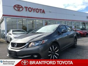 2013 Honda Civic Touring, Automatic, Leather, Navigation, Sunroo