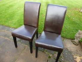 2 x MULTIYORK DINING CHAIRS ............ONLY £10