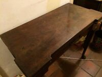Folding Antique Card Table