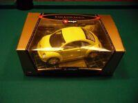 Burago Volkswagen Beetle 1998 1/18 scale model Gold Collection