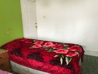 Double room available for single person share with one person