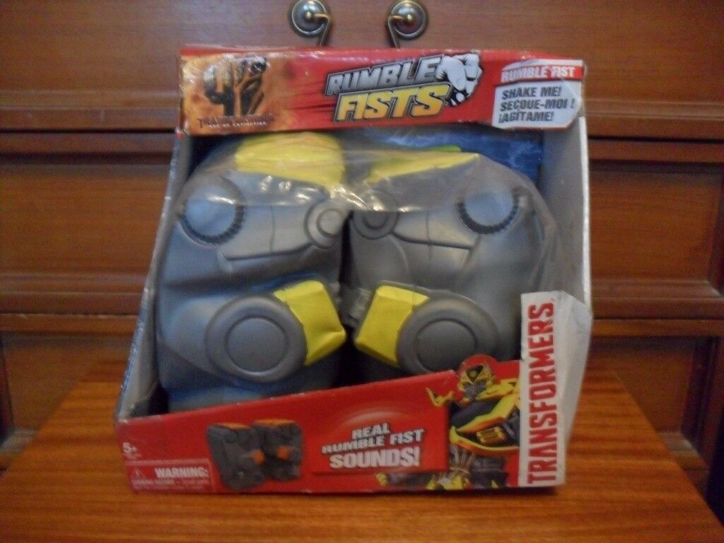 Transformers Rumble Fists