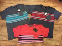 Men's tops, all brand new with tags, medium