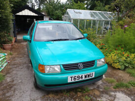 Pistachio Green 1999 VW polo L Mk3 - great condition interior and exterior for age