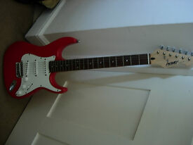 electric guitar -excellent cosmetic and playing condition, lovely gift. Amp also available