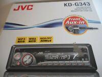 NEW JVC CD CAR RAIDO STILL IN BOX