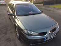 2005 Renault Laguna estate 1.9dci with tow bar