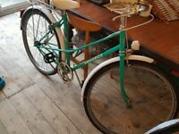 Vintage peugeot ladies step through bike for 5 ft 5