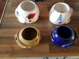 American football mugs