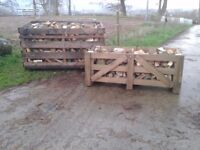 Top quality seasoned hardwood firewood logs for sale. No sparks when burning.