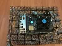 H110M-R Motherboard w/ i5 6400 + Stock cooler.