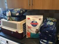 Cat litter and more