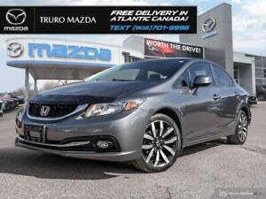 2013 Honda Civic Touring $67/WK TX IN! LEATHER SEATS/NAV