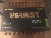 Nvidia Geforce GTX 1070 Ti Palit Dual Fan