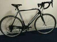 Bargain! Cannondale six Carbon fiber road bike Shimano 105